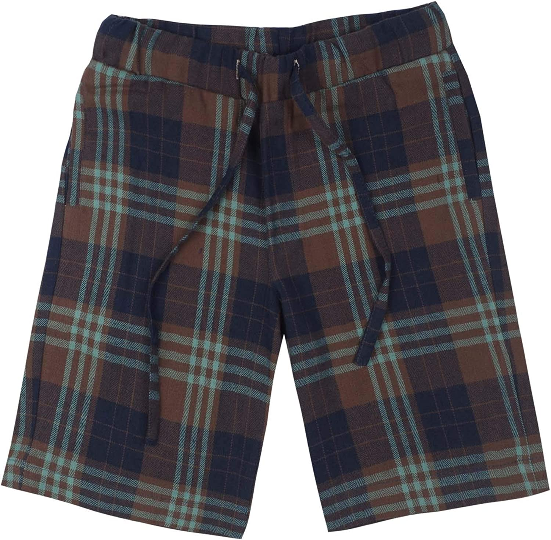 Spring/&Gege Boys Plaid Soft Lightweight 100/% Cotton Flannel Pajamas Shorts