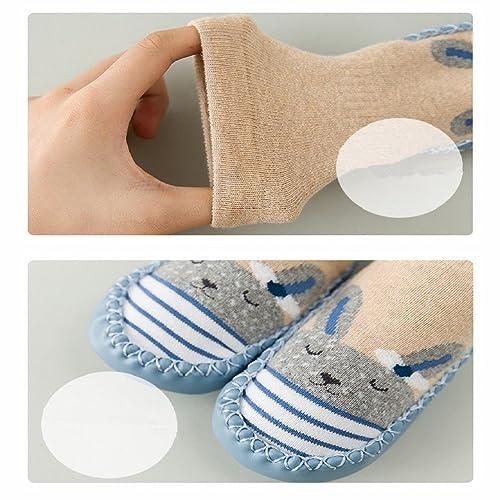 Calcetines de bebé, AMEIDD 3 Pares Calcetines de bebé niña niño ...