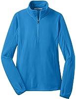 Port Authority Ladies Microfleece 1/2 Zip Pullover