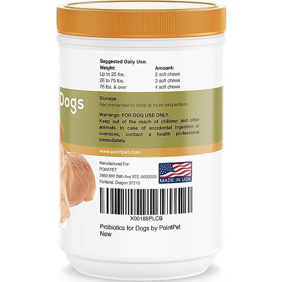 Amazon.com: Probióticos para perros con enzimas digestivas ...
