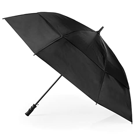 10a11861ca35 totes Automatic Open Windproof & Water-Resistant Golf Umbrella