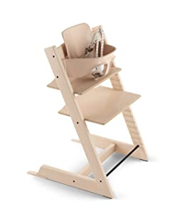 Stokke 2019 Tripp Trapp High Chair, Includes Baby Set, Natural