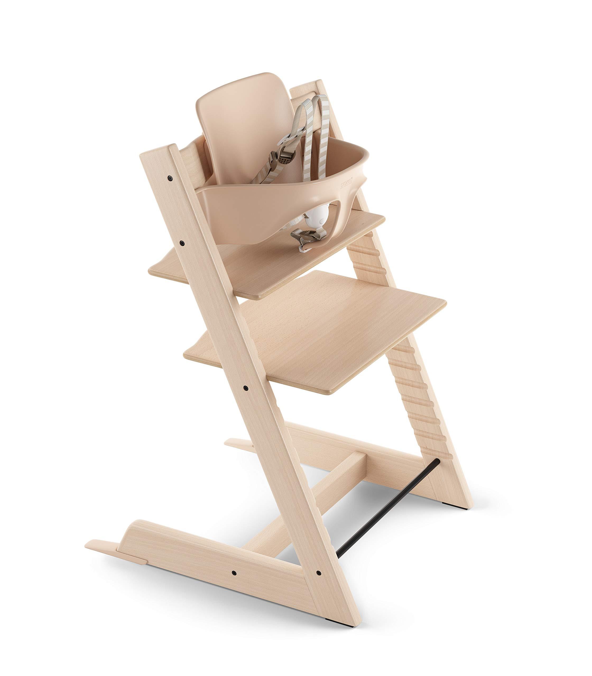 Stokke tray white childrens highchair for Stokke tripp trapp amazon