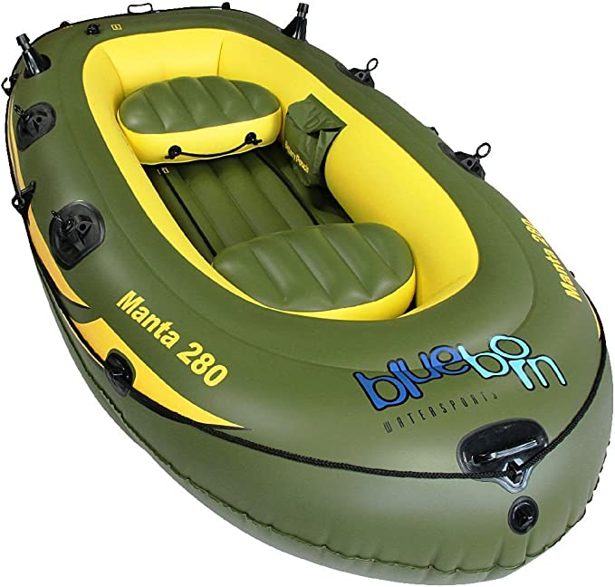 Schlauchboot Set Treck X1 Ruderboot Boot 170 kg Paddelboot Paddel Pumpe