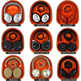Headphones Case for Bose QC15, QC2, AE2,Sony MDR,Sennheiser HD, AKG,ATH,JBL,Jabra Revo, skullcandy and More/Headphone Full Size Hard Shell Large Carrying Case/Cuffia Borsa interna