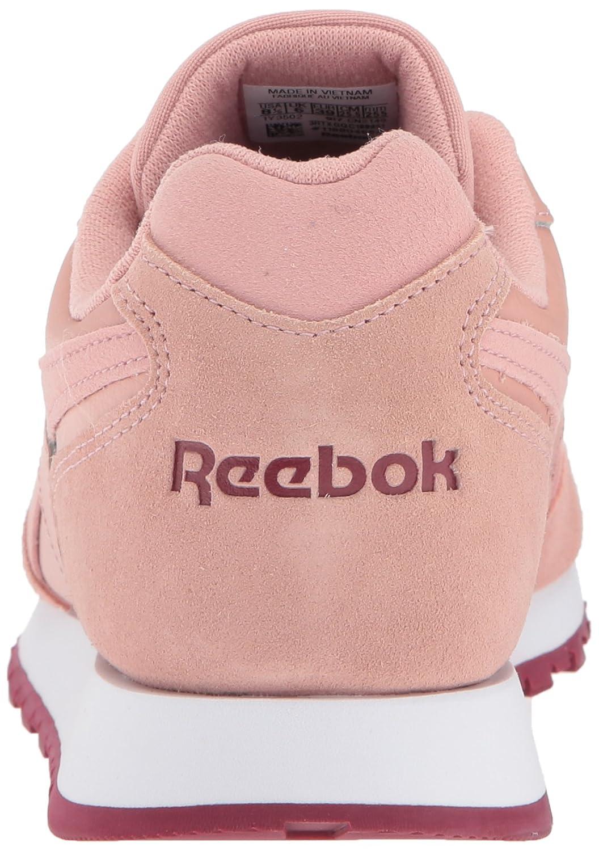 Reebok Women's Classic Harman Run Sneaker Pink/Urban B071FK8V7Z 7.5 B(M) US Chalk Pink/Urban Sneaker Maroon/White 91ad18