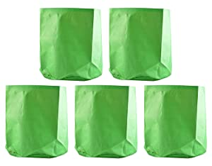 Evergreen Gardening Green Grow Bag (12 x 12 ) - Qty 5 nos