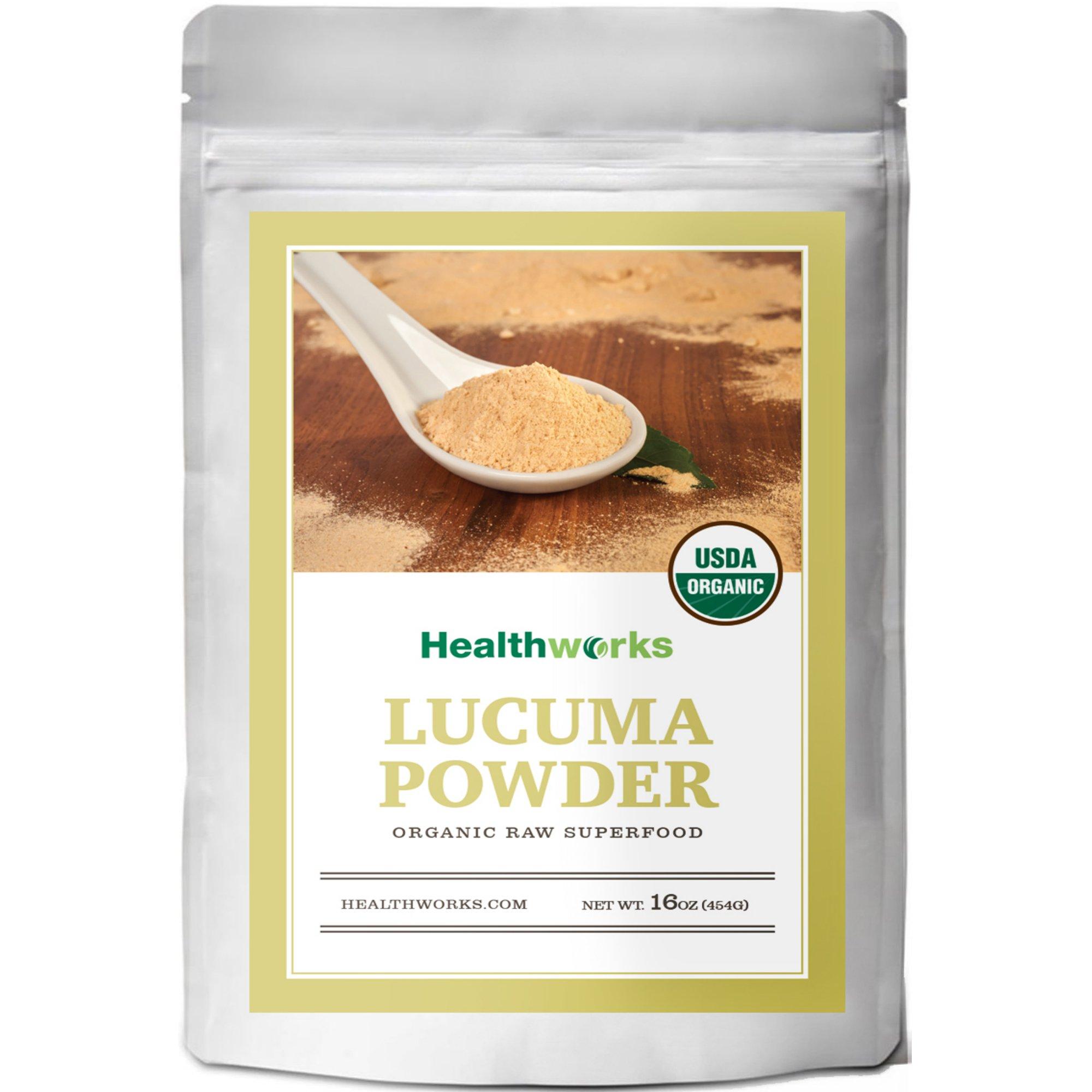 Healthworks Lucuma Powder Raw Organic, 1lb by Healthworks