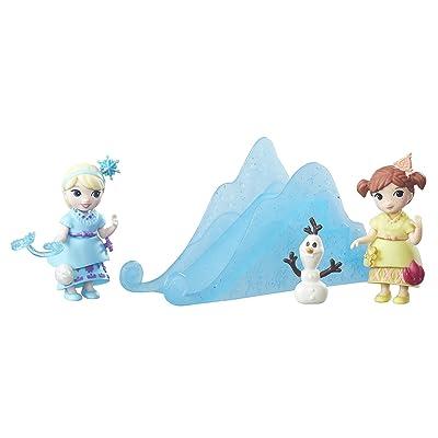Disney Frozen Little Kingdom Snow Sisters Set: Toys & Games