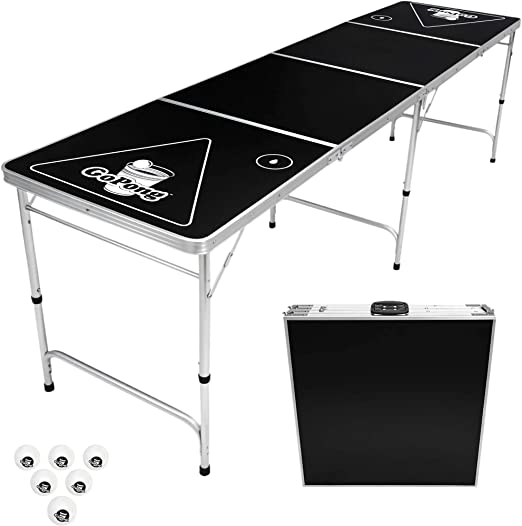 GoPong Pong Table Beer 8-Foot Portable - Best Pick