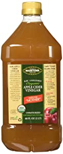 Organic Apple Cider Vinegar With The Mother 68 oz -100% USDA Certified Organic - Raw, Unfiltered