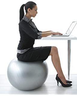 amazon com gaiam classic balance ball chair exercise stability