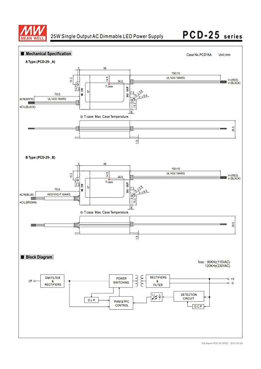 Led Power Supply Diagram - Wiring Diagrams ROCK