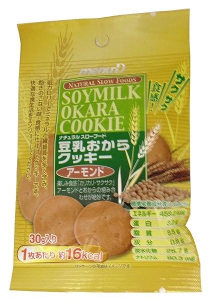 Dee leche de soja galletas de almendra Okara 30gX12 bolsas