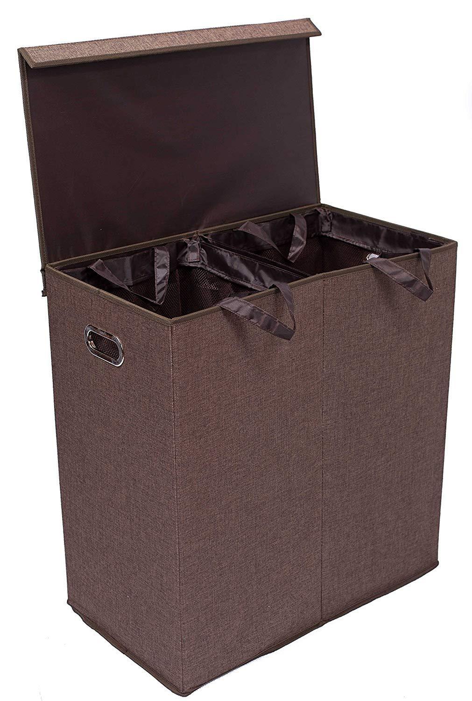 Amazon Com Birdrock Home Single Laundry Hamper With Lid