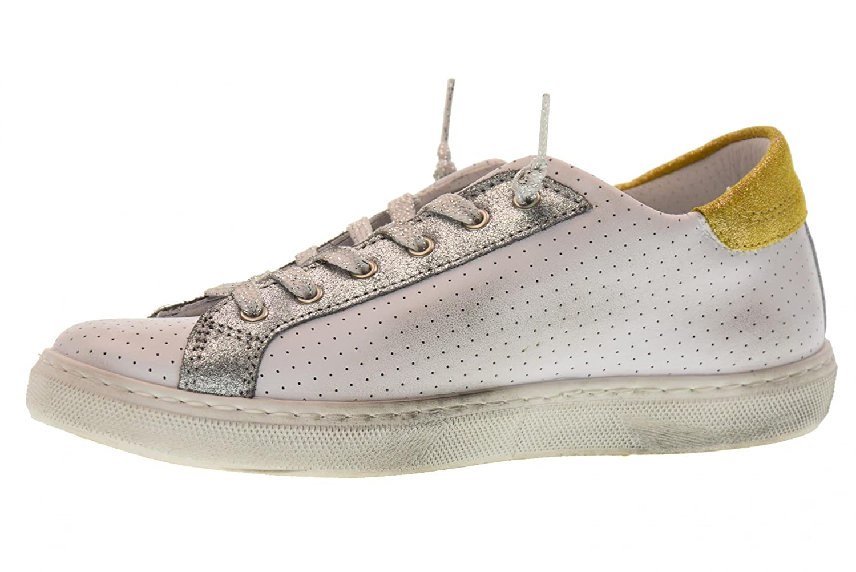 2 Star Frauen Niedrige Turnschuhe Schuhe 2SD 1824 Weiß