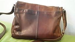 messenger bag b chertasche aus ge ltem buffalo leder 38x29x11 cm von outback model kalgoorlie. Black Bedroom Furniture Sets. Home Design Ideas