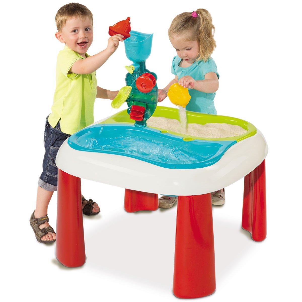 Sand und Wassertisch 2in1 vielseitige Spielmöglichkeiten • Kinder Spieltisch Kindertisch Sandspielzeug Garten Spielzeug Set