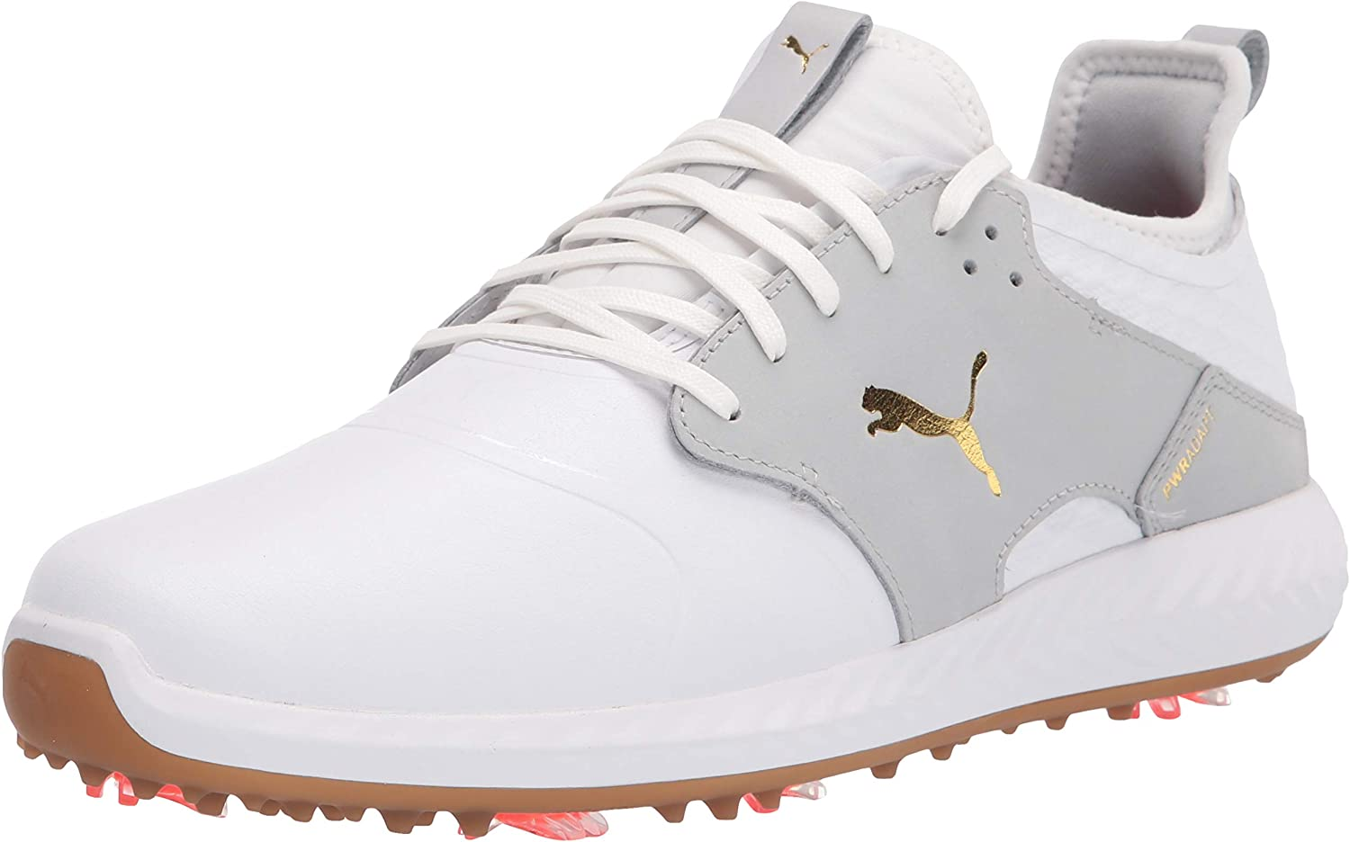 PUMA Men's Ignite Pwradapt Caged Crafted Golf Shoe