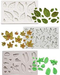 Amazon.com: BOZOA - Molde para fondant de hojas (3 unidades ...
