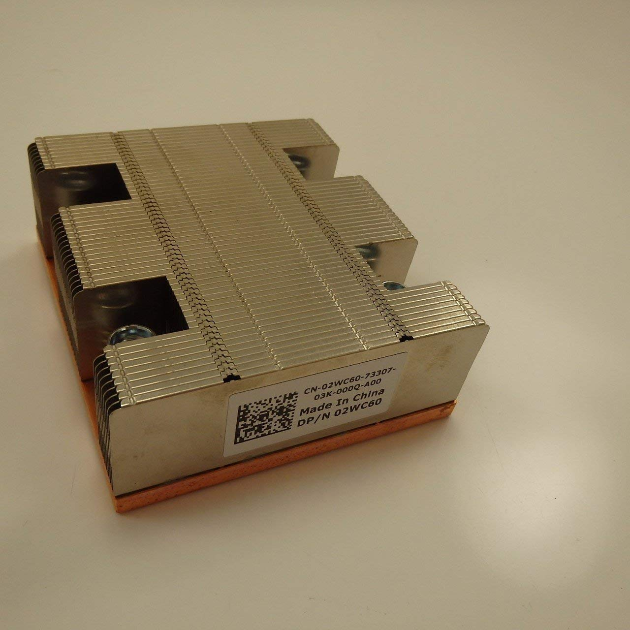 Dell 2WC60 PowerEdge M805 M905 Copper Base Heatsink with Mount Screws Renewed