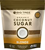 Big Tree Farms Organic Blonde Coconut Sugar, Vegan, Gluten Free, Paleo, Certified Kosher, Cane Sugar Alternative…