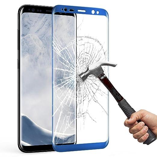 46 opinioni per Samsung Galaxy S8 Plus Pellicola Protettiva, Mture HD Cristallo Film Completo
