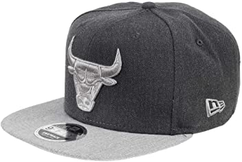 95832b0777c New Era Chicago Bulls 9fifty Snapback NBA Heather