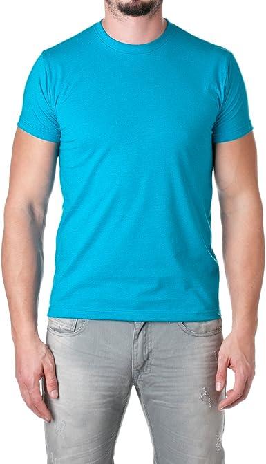 Next Level Mens Premium Fitted CVC Crew/Tee 3XL Turquoise