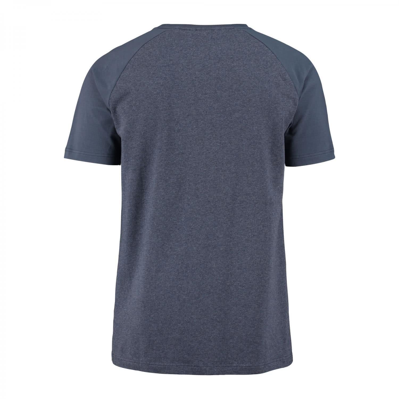 para Hombre,/para Deporte y Ocio,/Cuello Redondo de algod/ón,/Deportiva para/Entrenamiento Color Azul de Manga Corta hummel Camiseta Classic Bee/Carl SS