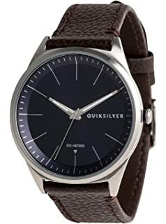 Quiksilver Bienville Leather - Reloj Analógico para Hombre EQYWA03014