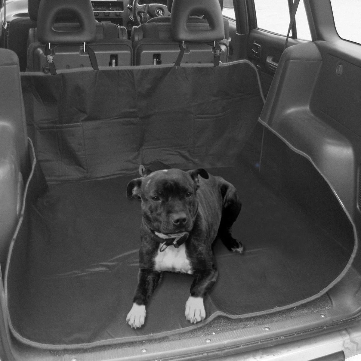 Heavy Duty, impermeabile universale 2-in-1 per bagagliaio per-Protezione per sedile posteriore auto, per cani e gatti-Amaca MTS