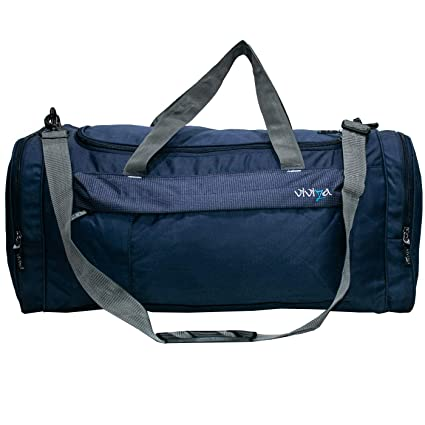 Viviza Duffle Bag-Viviza Water Resistance Polyester Navy Blue Duffle Bag   Amazon.in  Bags fcc3ef7d676e2
