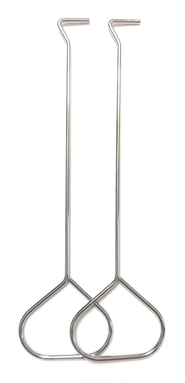 Jekayla 2 Pack Stainless Steel Put Out Wick Dipper Candle Hook Snuffers (Silver)