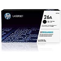 HP 26A, CF226A, Toner Cartridge, Works with HP LaserJet Pro M402 series, M426 series, Black