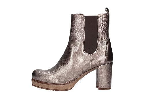 Unisa Kanji Botines Bajos Mujer Gunmetal 40: Amazon.es: Zapatos y complementos
