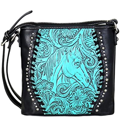 Amazon.com: Trinity Ranch por Montana West caballo Messenger ...