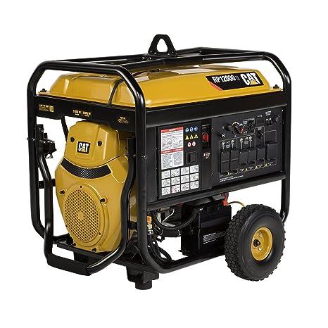 RP12000E 12000 Running Watts 15000 Starting Watts Gas Powered Portable Generator 502 3699