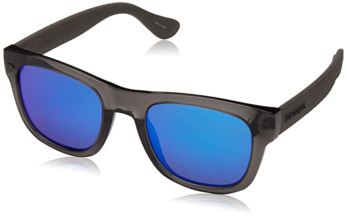 Havaianas Sunglasses Unisex-Erwachsene Sonnenbrille Paraty, Blau (Blue Black), 50