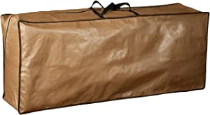 Abba Patio Outdoor Rectangular Cushion/Cover Storage Bag, Protective Zippered Storage Bags with Handles, 79''L x 30''W x 24''H