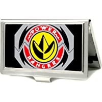 """Buckle Down mens Buckle-down Business Card Holder - Power Rangers Wallet 3.7"""" x 2.5"""""""