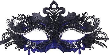 Coofit Masque femme Métal Masque Vénitien Mascarade pour carnaval Bal Masqué Masque venise Costume Party Masque carnaval: Amazon.fr: Jeux et Jouets