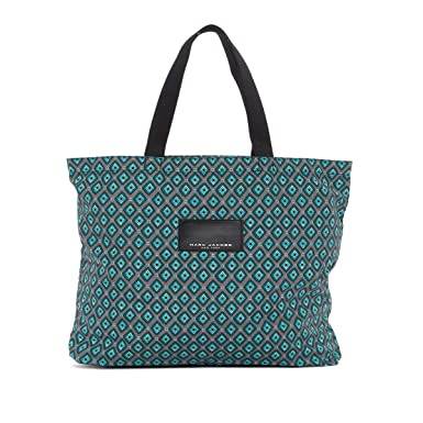 54236e22fa8e Image Unavailable. Image not available for. Color  Marc Jacobs Diamond  Printed Shopping Tote Bag ...