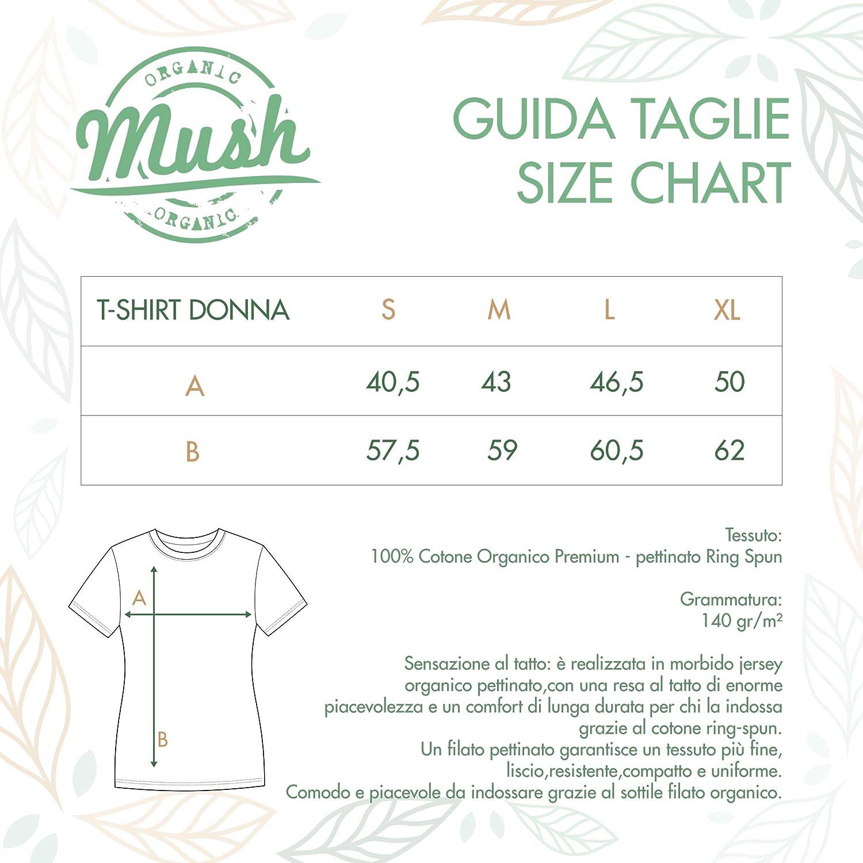 MUSH T-Shirt Nairobi EMPIEZA El MATRIARCADO La Casa di Carta Casa de Papel 100/% Cotone Organico
