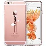 iPhone 6 / 6S Hülle (4,7 Zoll), ESR® Mania Series Transparent Weiche Silikon Schutzhülle TPU Bumper Case für iPhone 6/6S (Sturmleiter)