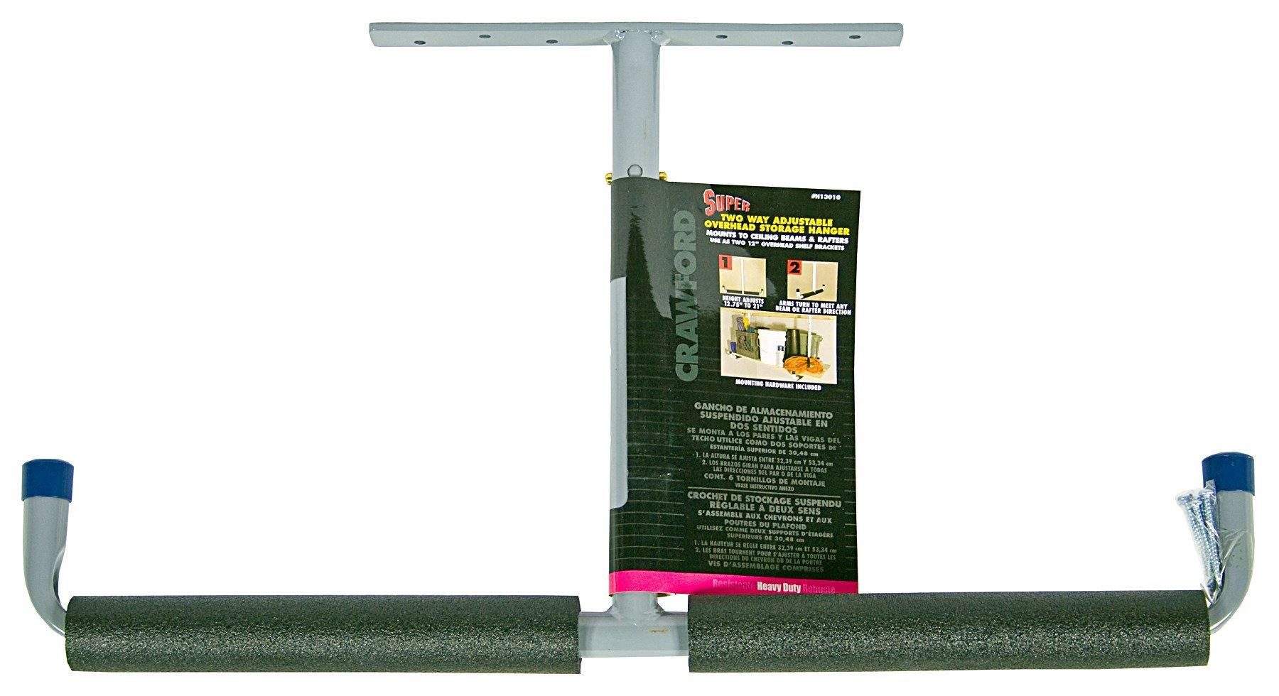 Crawford H13010 12'' Two Way Adjustable Storage Hanger