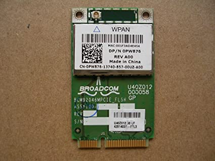 DRIVERS UPDATE: DELL USB ADAPTER BROADCOM BLUETOOTH