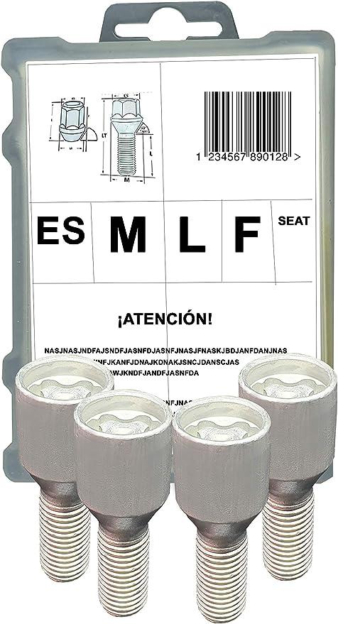 Farad 1-ZA SB 1CH.SP Stil Bull Kode ZA Felgenschloss mit Befestigungsbolzen f/ür Autos