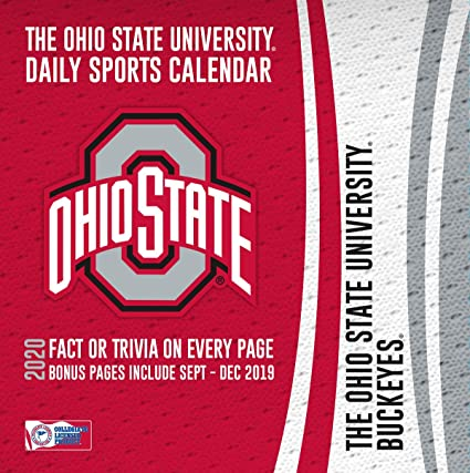 Ohio State Calendar 2020 Amazon.: 2020 Ohio State Buckeyes Desk Calendar, by Turner