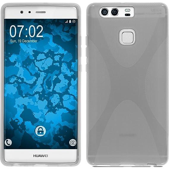 buy popular cb4eb c24dc Amazon.com: PhoneNatic Silicone Case for Huawei P9 X-Style ...